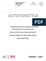 Autothrottle (acaleradores automaticos)