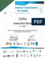 Certificacion Seminario Internacional