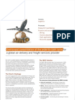 End-to-end consolidation of the order-to-cash cycle for a global air delivery and freight services provider