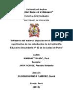 Ejemplo de Monografia PAUL MAMANI TISNADO