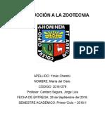 Introducción a La Zootecnia-Informe 2