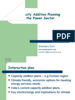 Capacity Addition Planning in the Power Sector- India