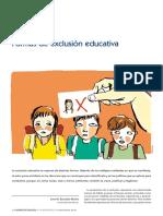 3. Formas de Exclusión Educativa