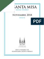 Misal Propio Noviembre 2018