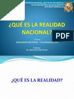 Rna17 - Teoria - Clase 01 - Que Es Realidad (1)-1