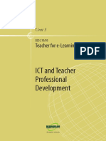 ICT and teacher proffessional development