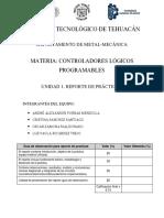 Reporte de Práctica 5 - PLC