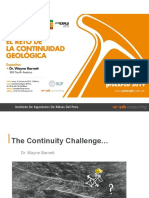 The Continuity Challenge  Structural Geology