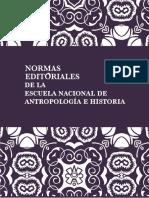Normas editoriales de la ENAH