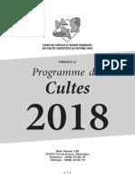 UAGF•Culte2018