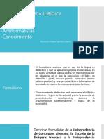 Teorias Formalistas y Antiformalistas