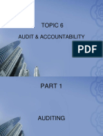Topic 6 Auditing