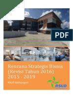 Renstra Bisnis 2015-2019