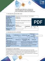 Guía de Actividades y Rúbrica de Evaluación - Fase 2 - Trabajo de Reconocimiento Unidad 1