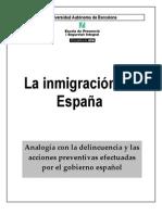 La inmigración en España, actuaciones del estado español en los países de orígen