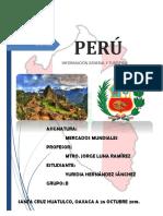 País Perú Entregable