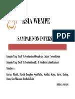RSIA WEMPE Label Sampah Non Infeksius