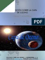 Convención Sobre La Capa de Ozono Presentacion