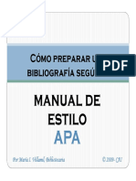Manual de Estilo APA