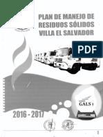 PLAN DE MANEJO DE RESIDUOS SOLIDOS 206-2017 VES.pdf