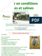 Planter en Conditions Arides Salines