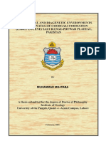 Dr. Mujtaba, Depositional & Diagenetic Environments of Carbonates of Chorgali Formation. Ph.D Thesis