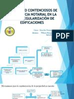 ASUNTOS NO CONTENCIOSOS DE COMPETENCIA NOTARIAL EN LA LEY DE REGULARIZACIÓN DE EDIFICACIONES