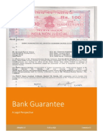 Bank Gaurantee - Legal Perspective