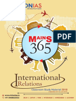 VISION MAINS 365 International Relation
