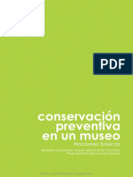 Conservacion Preventiva en Un Museo