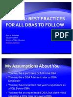 DBA 101