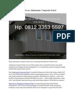 Harga Seven Aluminium Composite Panel Hp. 0812 3353 5597