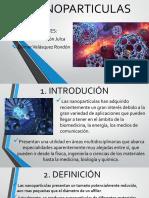 Nanoparticulas - diapositivas