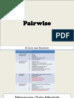 1. Pairwise