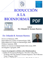 Introduccion a La Bioinformatica