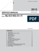SERVICE MANUAL MJ-e21BG