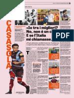 La Gazzetta Dello Sport 27-10-2018 - L'Intervista