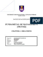 Mgt162 SPAN OF MANAGEMENT
