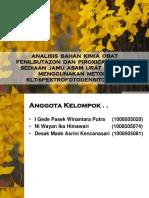 Ppt BKO Fenilbutazon Dan Piroxicam