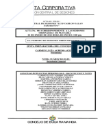 Sesiones Concejo Bucaramanga