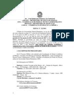 UFF - Edial 2016 - T Cnico Administrativo - V Rios Cargos