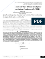 Swift Heavy Ion Induced Opto-Effects in Ethylene-Chlorotrifluoroethylene Copolymer (E-CTFE)