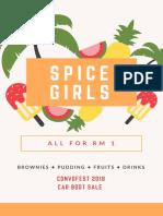 Shop Poster Spice Girls