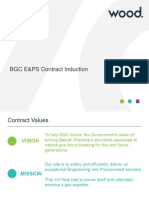 1. BASRAH GAS E+PS CONTRACT INDUCTION