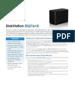 Synology_DS216+II_Data_Sheet_enu