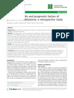 Treatment Results and Prognostic Factors of Pediatric Neuroblastoma a Retrospective Study