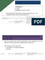 Strategi Premedikasi Dengan Obat Anti-Inflamasi