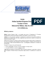 Forensic - Incident Response Analisys - Computer Forensics Forensic Italian Italiano.pdf
