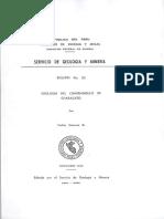 Geología - Cuadrangulo de Characato %2833t%29%2C1969.PDF