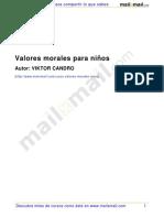 Valores Morales Niños 26917
